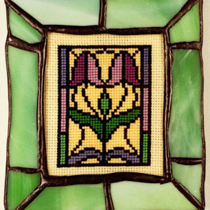 Stained Glass Miniature