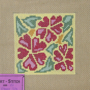 Flower Tile Canvas