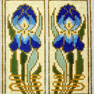 Iris Pair Canvas